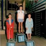 CAMPIONATI REGIONALI DI NUOTO classe 1979 (piscina Scandone) 1° Raffaele Maiello (10/7/1979) Stilisticamente (stile libero) era meglio di un Rosolino (11/7/1978) paffutello che già spaccava le acque ma anche le prendeva da Giuseppe La Manna!